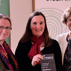 Read more at: CISL: Excellence Award at University's Green Impact Awards